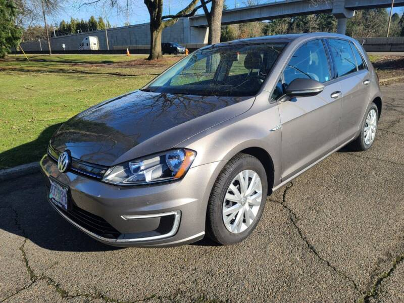 2015 Volkswagen e-Golf for sale at EXECUTIVE AUTOSPORT in Portland OR