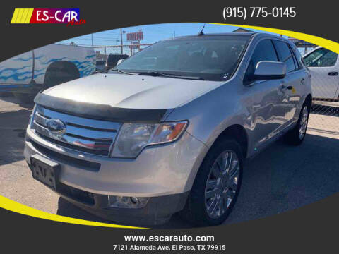 2009 Ford Edge for sale at Escar Auto - 9809 Montana Ave Lot in El Paso TX