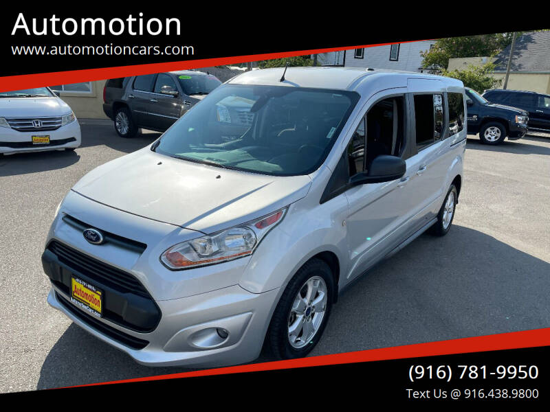 2016 Ford Transit Connect Wagon for sale at Automotion in Roseville CA