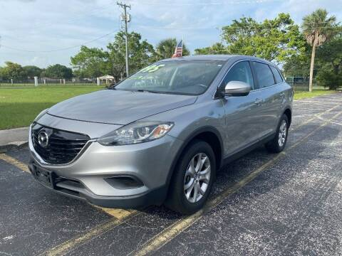 2015 Mazda CX-9 for sale at Lamberti Auto Collection in Plantation FL