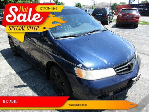 2003 Honda Odyssey for sale at U C AUTO in Urbana IL