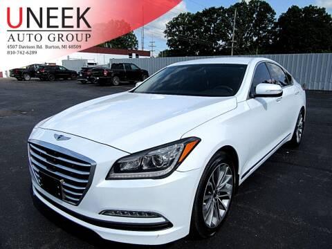 2015 Hyundai Genesis for sale at Uneek Auto Group LLC in Burton MI