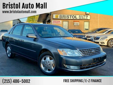 2004 Toyota Avalon for sale at Bristol Auto Mall in Levittown PA