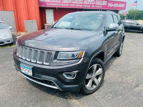 2015 Jeep Grand Cherokee for sale at LUXURY IMPORTS AUTO SALES INC in North Branch MN