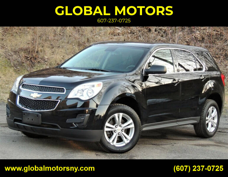2015 Chevrolet Equinox for sale at GLOBAL MOTORS in Binghamton NY