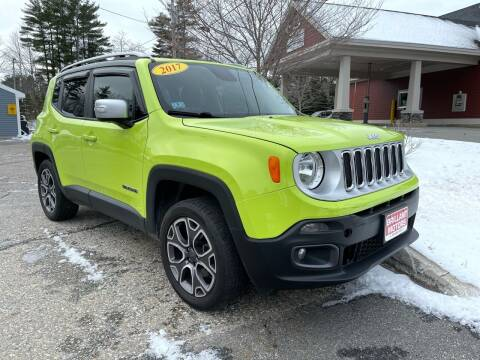 2017 Jeep Renegade for sale at Brilliant Motors in Topsham ME