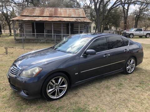 2008 Infiniti M35 for sale at Village Motors Of Salado in Salado TX