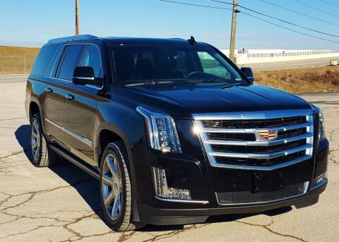 2017 Cadillac Escalade ESV for sale at A F SALES & SERVICE in Indianapolis IN