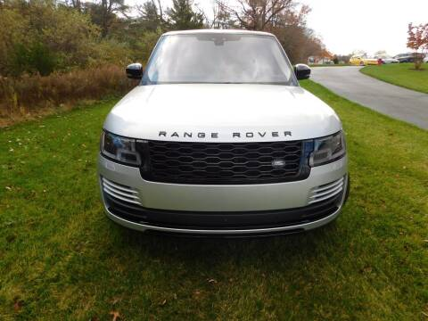2018 Land Rover Range Rover for sale at Shedlock Motor Cars LLC in Warren NJ