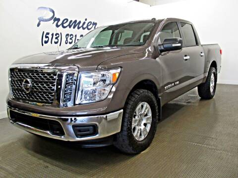 2018 Nissan Titan for sale at Premier Automotive Group in Milford OH