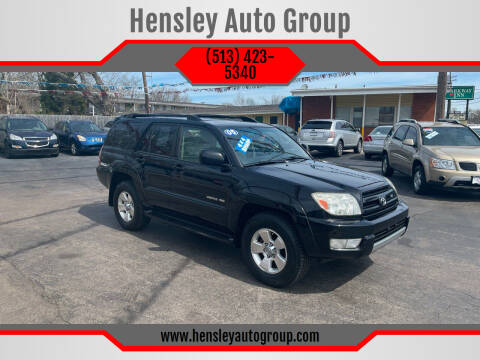 2005 Toyota 4Runner for sale at Hensley Auto Group in Middletown OH