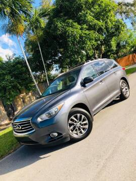 2014 Infiniti QX60 for sale at IRON CARS in Hollywood FL