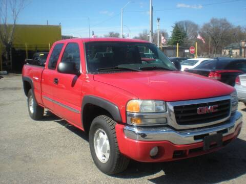 2004 GMC Sierra 1500 for sale at Automotive Center in Detroit MI