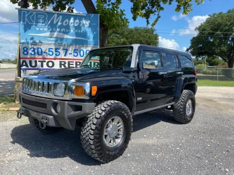 2007 HUMMER H3 for sale at K & B Motors LLC in Mc Queeney TX