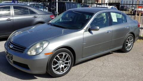 2006 Infiniti G35 for sale at 4 U MOTORS in El Paso TX