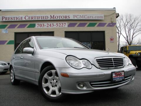 2006 Mercedes-Benz C-Class for sale at Prestige Certified Motors in Falls Church VA