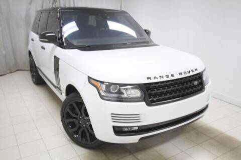 2017 Land Rover Range Rover for sale at EMG AUTO SALES in Avenel NJ