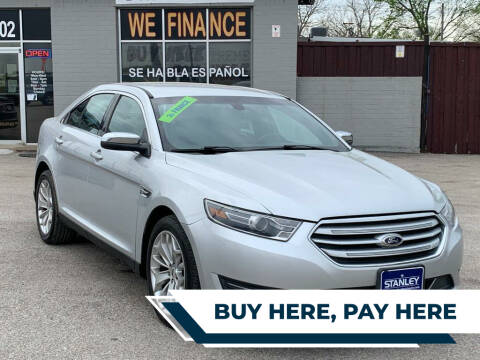 2015 Ford Taurus for sale at Stanley Direct Auto in Mesquite TX