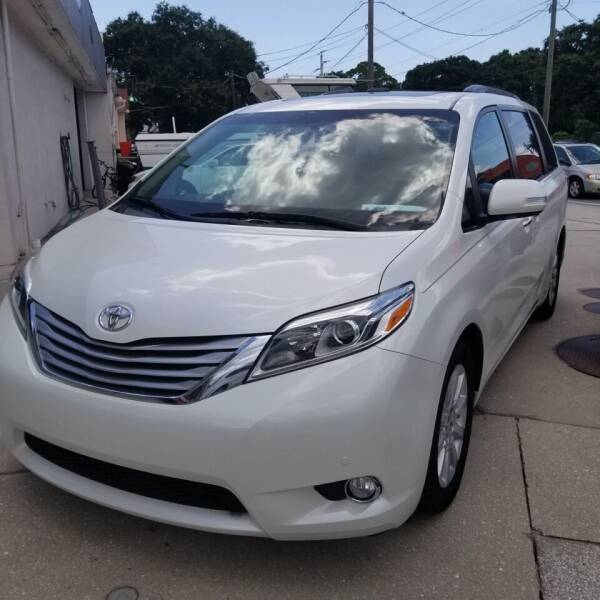 2016 Toyota Sienna for sale at Steve's Auto Sales in Sarasota FL