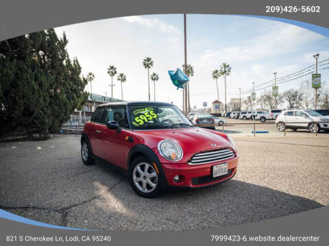 2009 MINI Cooper for sale at Auto Toyz Inc in Lodi CA