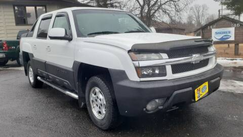 2004 Chevrolet Avalanche for sale at Shores Auto in Lakeland Shores MN