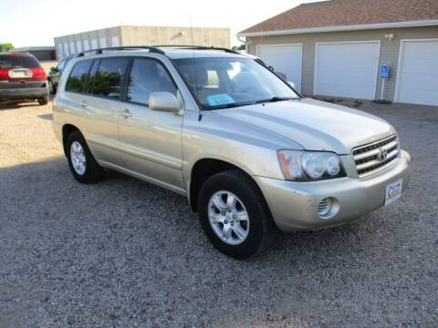 2003 Toyota Highlander for sale at Car Corner in Sioux Falls SD