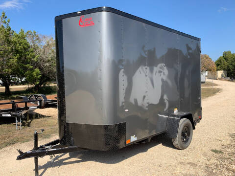 2021 CARGO CRAFT 6X12 DOORS/RAMP for sale at Trophy Trailers in New Braunfels TX