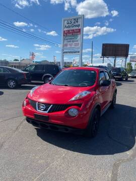 2014 Nissan JUKE for sale at US 24 Auto Group in Redford MI