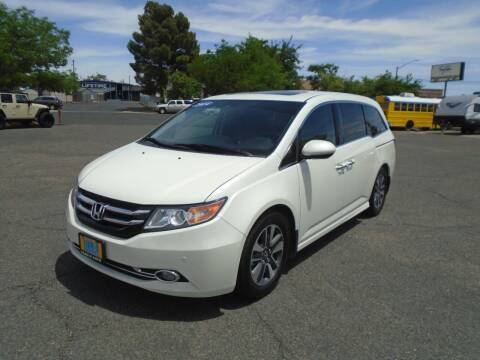 2014 Honda Odyssey for sale at Team D Auto Sales in St George UT