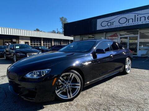 2015 BMW 6 Series for sale at Car Online in Roswell GA