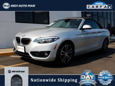 2018 BMW 2 Series for sale at INDY AUTO MAN in Indianapolis IN