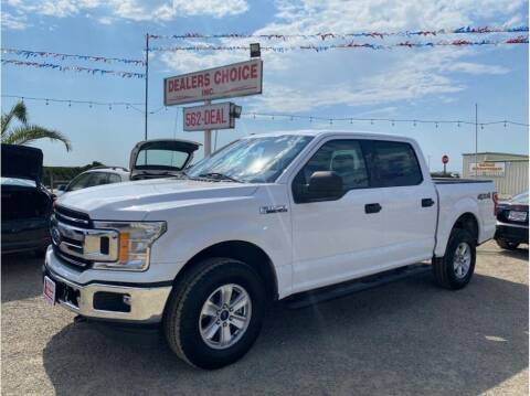 2018 Ford F-150 for sale at Dealers Choice Inc in Farmersville CA
