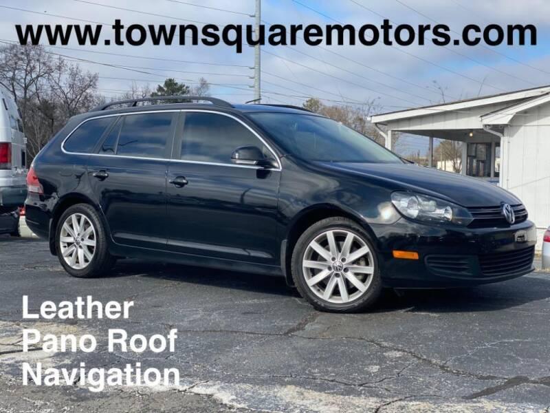 2012 Volkswagen Jetta for sale at Town Square Motors in Lawrenceville GA