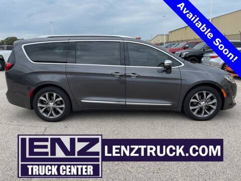 2017 Chrysler Pacifica for sale at LENZ TRUCK CENTER in Fond Du Lac WI