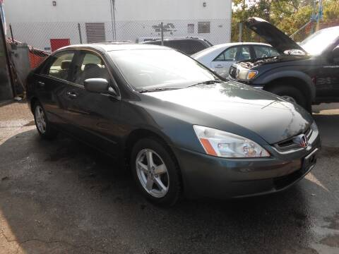 2004 Honda Accord for sale at N H AUTO WHOLESALERS in Roslindale MA