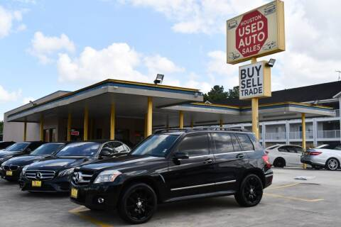 2012 Mercedes-Benz GLK for sale at Houston Used Auto Sales in Houston TX