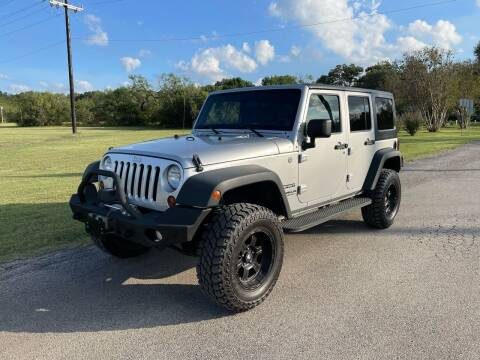 2012 Jeep Wrangler Unlimited for sale at Carz Of Texas Auto Sales in San Antonio TX