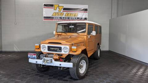 1982 Toyota Land Cruiser for sale at TT Auto Sales LLC. in Boise ID