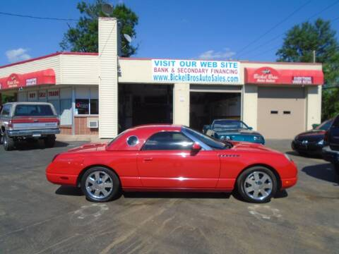 2002 Ford Thunderbird for sale at Bickel Bros Auto Sales, Inc in Louisville KY