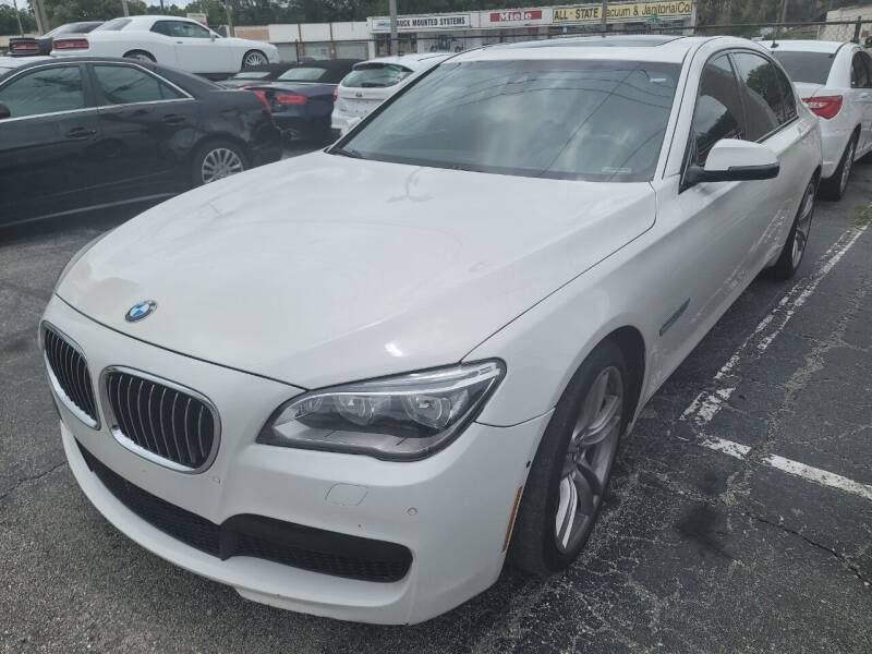 2013 BMW 7 Series for sale at Castle Used Cars in Jacksonville FL