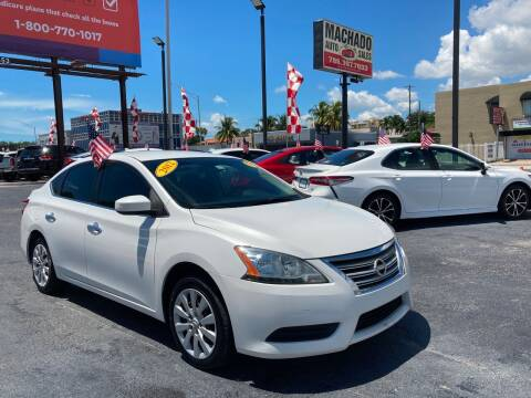 2013 Nissan Sentra for sale at MACHADO AUTO SALES in Miami FL