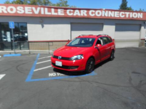 2013 Volkswagen Jetta for sale at ROSEVILLE CAR CONNECTION in Roseville CA