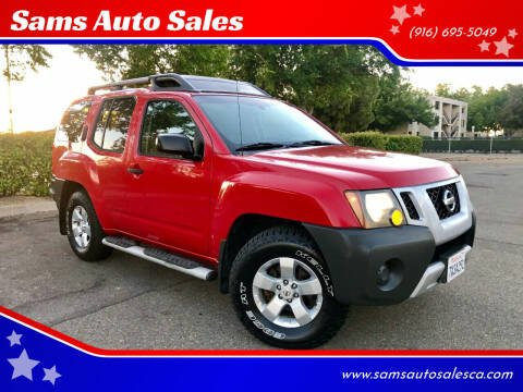 2009 Nissan Xterra for sale at Sams Auto Sales in North Highlands CA