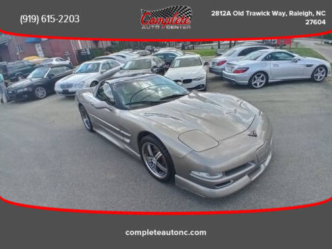 2002 Chevrolet Corvette for sale at Complete Auto Center , Inc in Raleigh NC