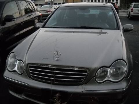 2005 Mercedes-Benz C-Class for sale at Best Wheels Imports in Johnston RI
