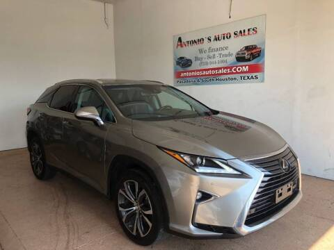 2017 Lexus RX 350 for sale at Antonio's Auto Sales in South Houston TX
