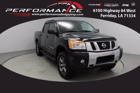 2015 Nissan Titan for sale at Performance Dodge Chrysler Jeep in Ferriday LA