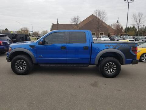 2012 Ford F-150 for sale at ROSSTEN AUTO SALES in Grand Forks ND