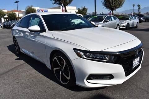 2018 Honda Accord for sale at DIAMOND VALLEY HONDA in Hemet CA