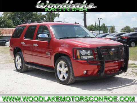 2013 Chevrolet Tahoe for sale at WOODLAKE MOTORS in Conroe TX